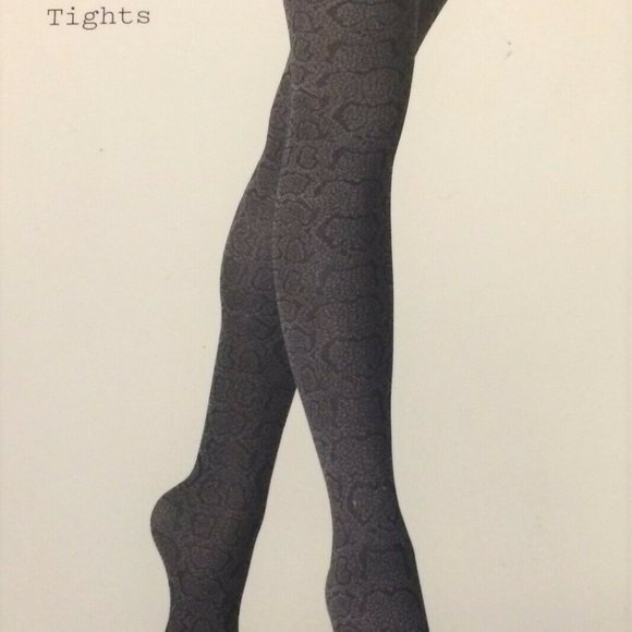 a new day Accessories - Opaque Stockings Tights A New Day Black Cheetah